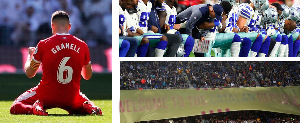5 moments in which politics and football mixed