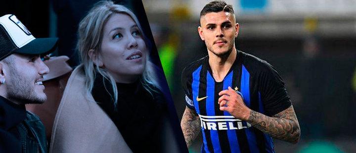 De fútbol y desamores: la novela de Mauro Icardi y Wanda Nara