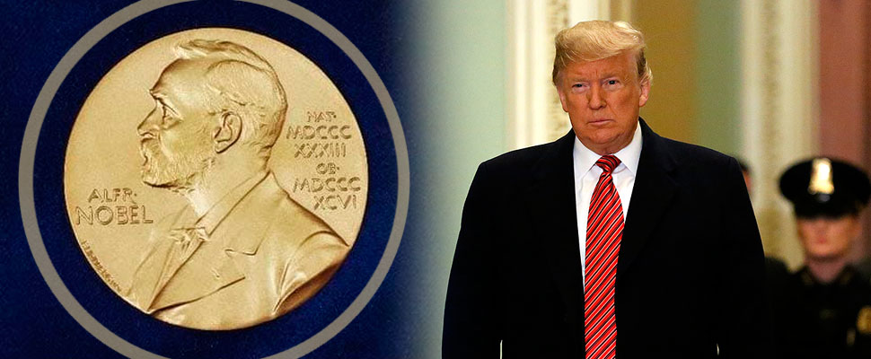May Donald Trump win the Nobel Peace Prize?