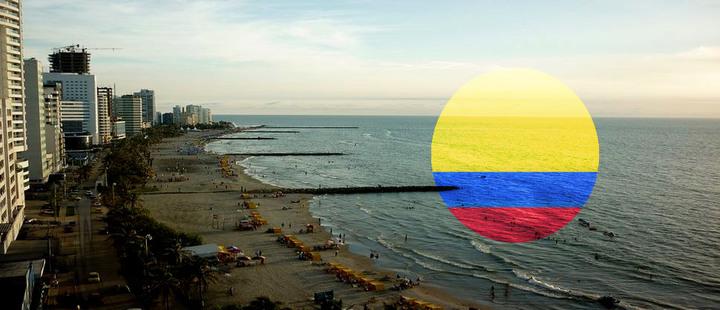Playas de Colombia, Bahía de Cartagena