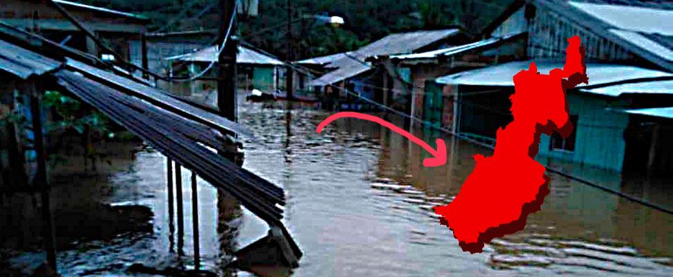 Floods in Chocó: alarming damages