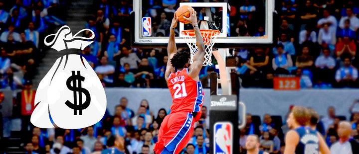 NBA: una liga de jugadores multimillonarios