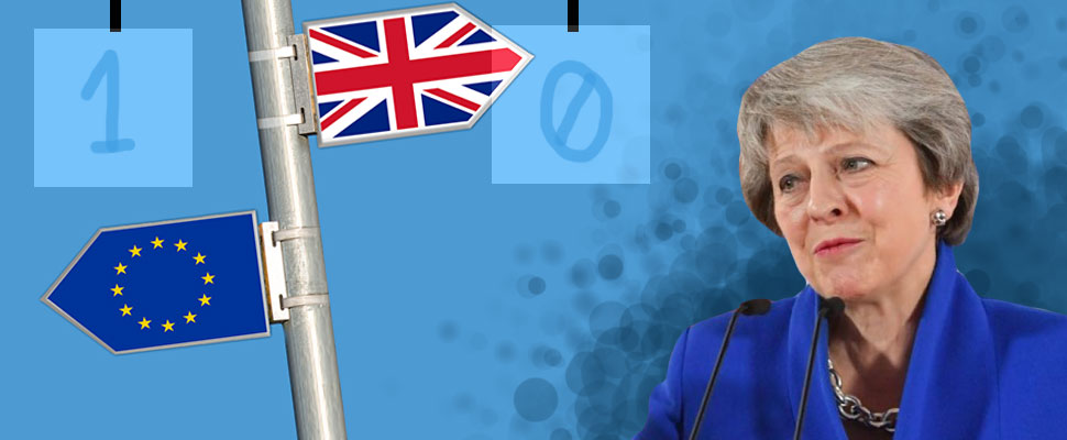 United Kingdom: Brexit 1 - Theresa May 0