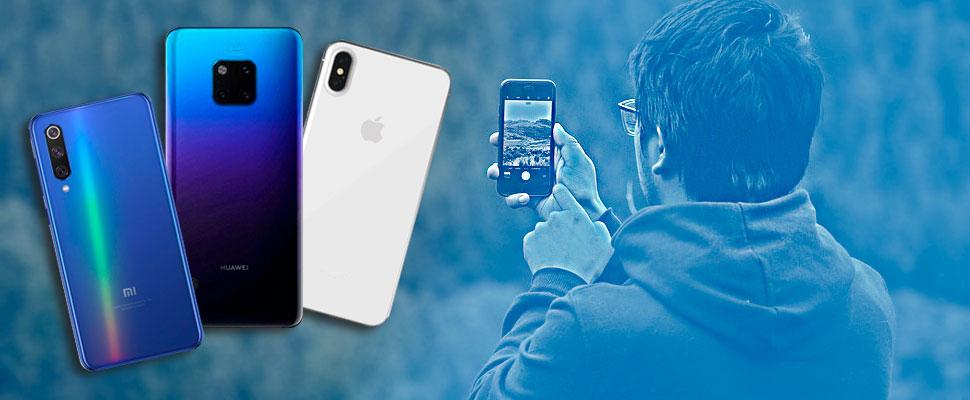 Los 5 smartphones con mejor cámara del mercado