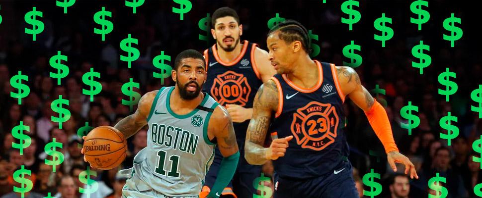¡Insólito! El segundo peor equipo de la NBA es el más costoso de todos
