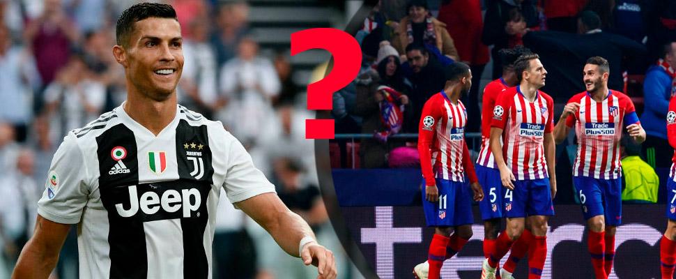 ¿Podrá la Juventus de Cristiano Ronaldo remontarle al Atlético?