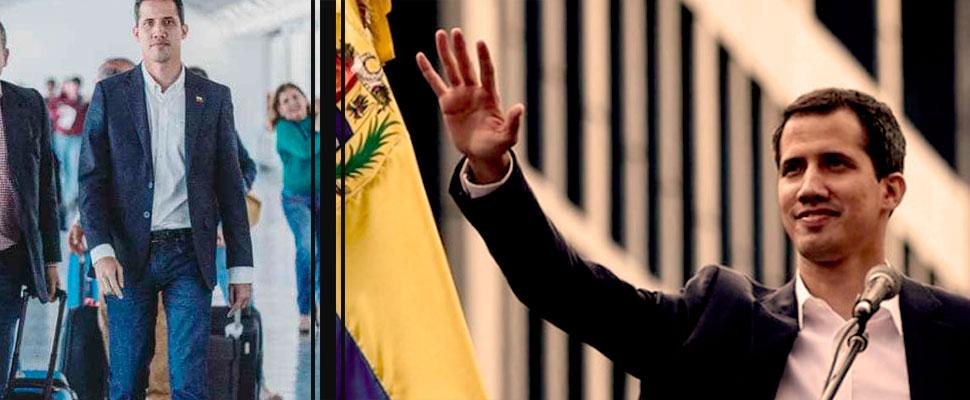 Lo que dejó la llegada de Juan Guaidó a Venezuela