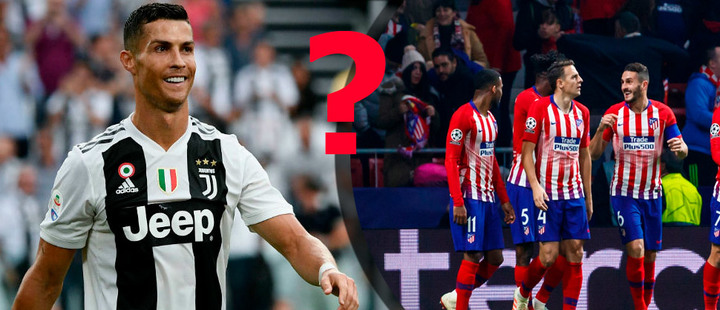 Can Juventus FC, lead by Cristiano Ronaldo, beat Atletico?