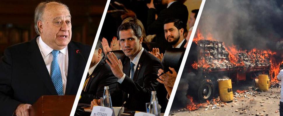 What comes to Venezuela