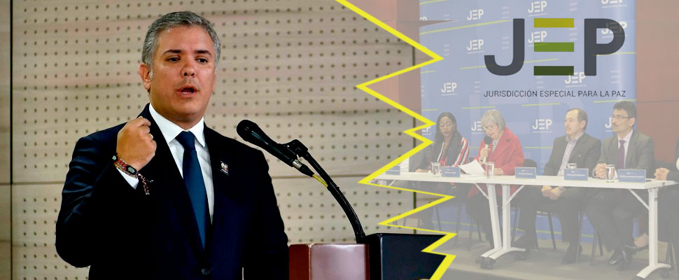 Iván Duque and the polemic decisions against JEP