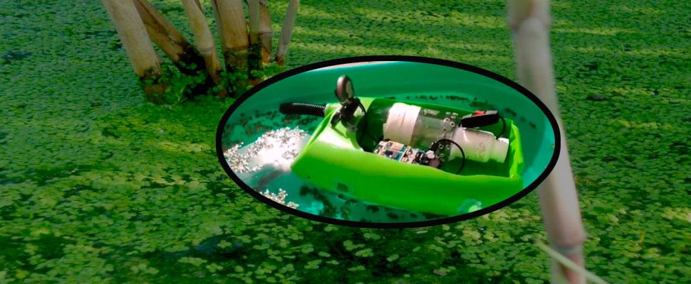 Este dispositivo creado por una familia podría limpiar todo un lago