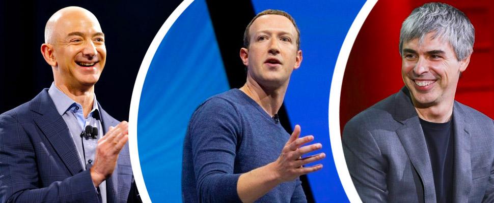 ¡Millonarios tecnológicos! Las 5 personas más ricas del mundo gracias a la tecnología