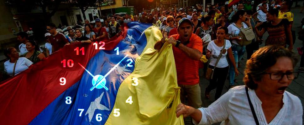 ¡Se le está acabando el tiempo a Venezuela!