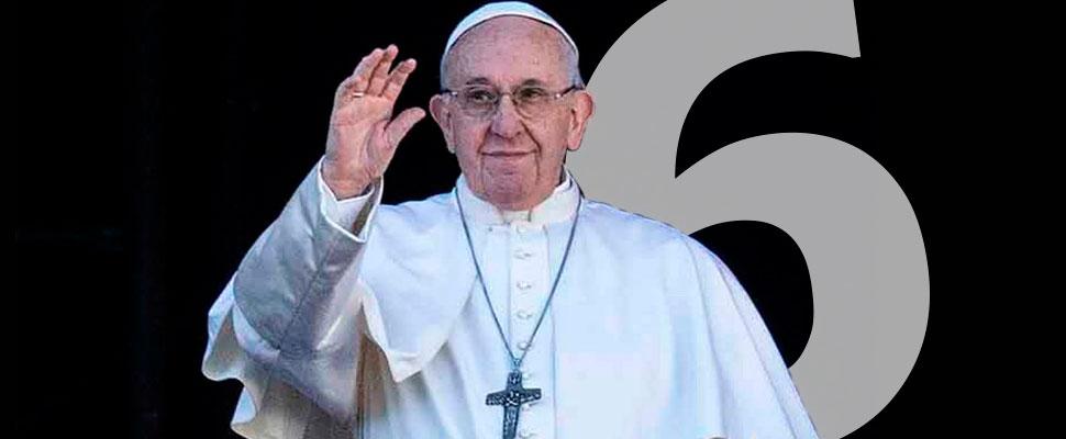 Papa Francisco: 6 años del 'papa liberal'