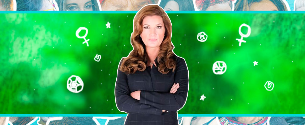 Meet Karren Brady: the football 'First Lady'