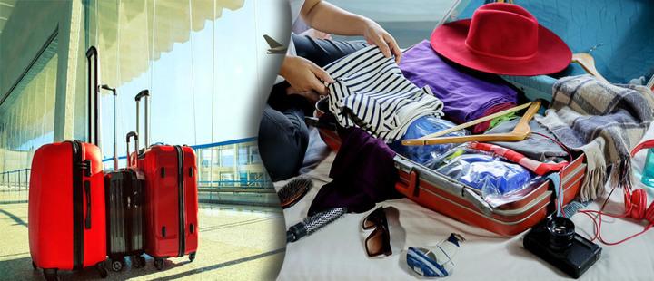 Aprende cómo hacer la maleta de viaje con estos 6 tips
