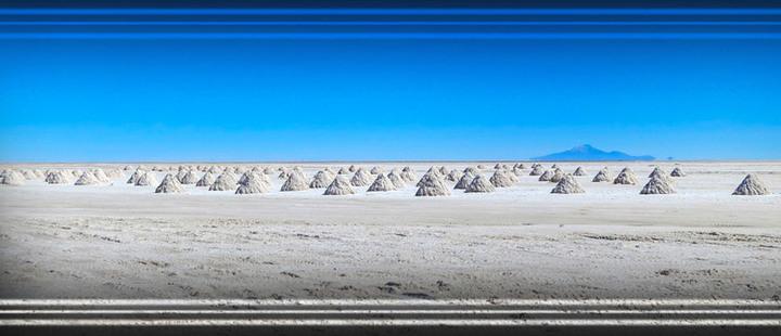 El salar de Uyuni en Bolivia, un lugar de otro planeta