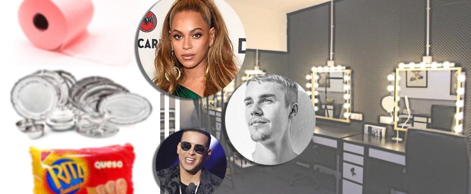 Los requisitos más raros que exigen estos 7 cantantes para sus camerinos