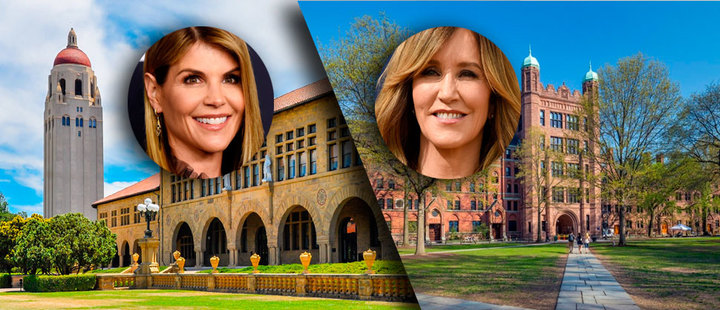 These 2 celebrities are involved in the admissions fraud