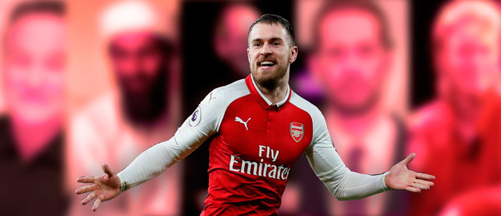 Aaron Ramsey's curse: 23 celebrities have died after a goal of his
