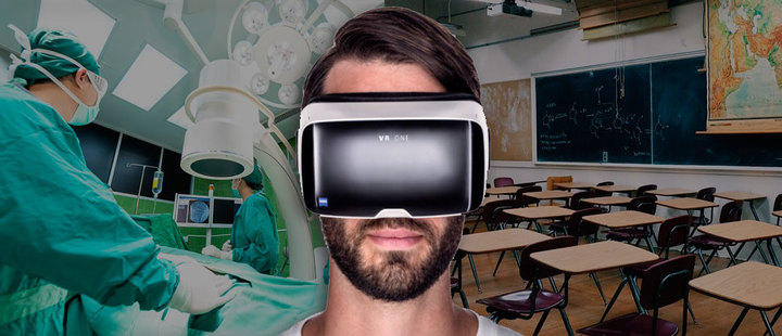 Virtual Reality: its potential in medicine and education