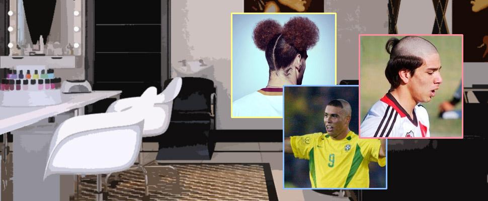 Los peinados más locos en la historia del fútbol