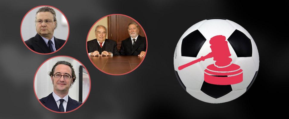 ¿Sabías que estos 3 abogados han salvado a varios futbolistas famosos?