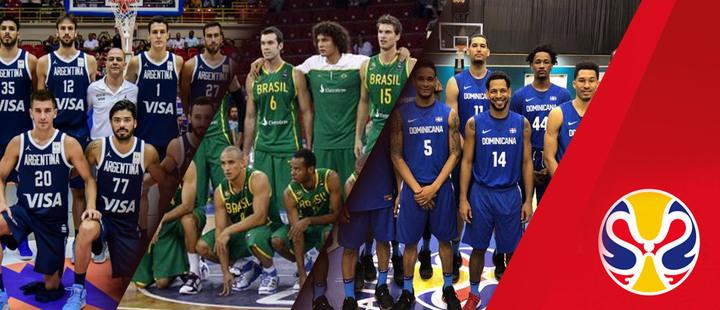 Los equipos latinoamericanos en el Mundial de Baloncesto 2019