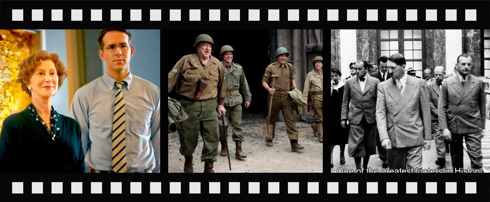 3 películas que hablan del arte en la Segunda Guerra Mundial