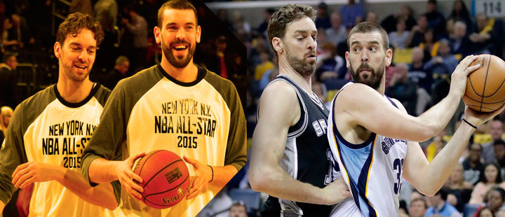 NBA: are the Gasol brothers facing each other on their new teams?