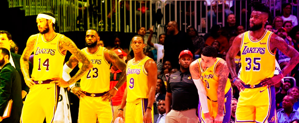 Why did the Los Angeles Lakers fail in season 18-19?