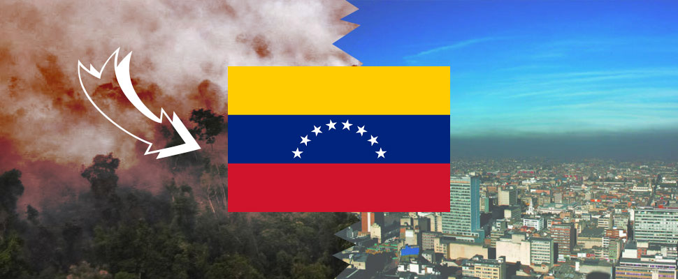Environmental alerts in Colombia would be Venezuela's fault