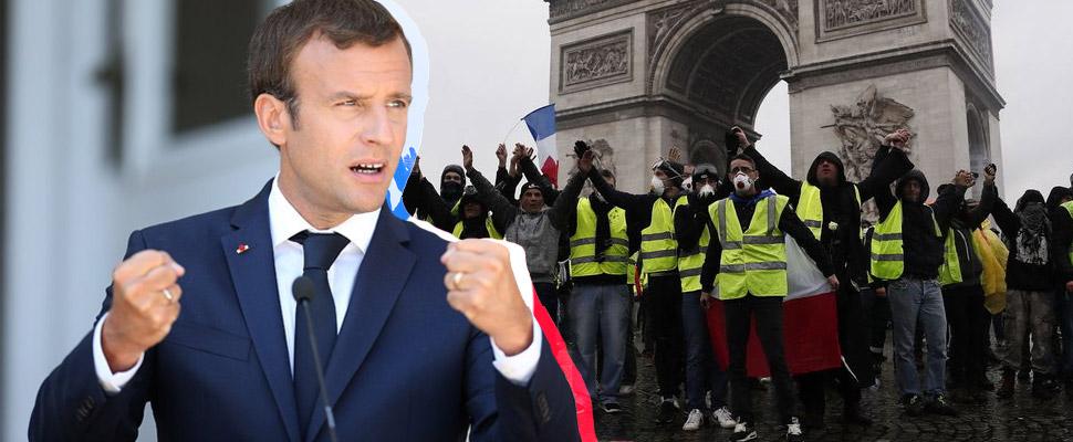 Francia: Macron VS Chalecos Amarillos