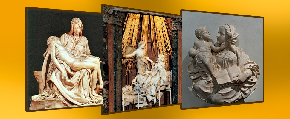 Las 3 esculturas de arte sacro que debes conocer