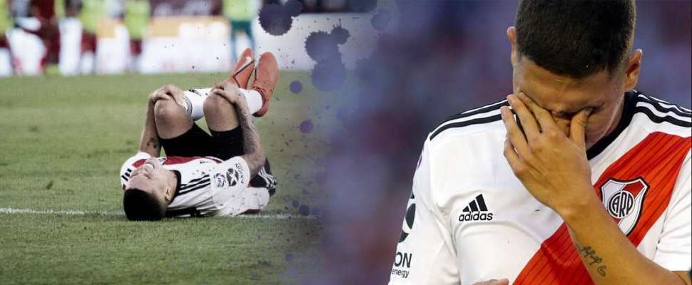 Injuries that ruined the best moment of their soccer careers
