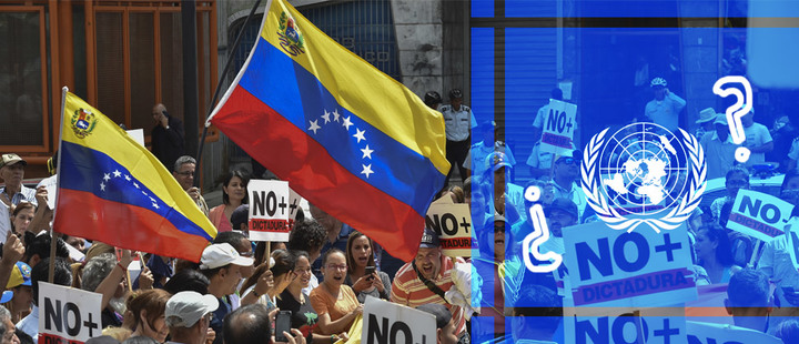 Where are the international organizations in the crisis in Venezuela?