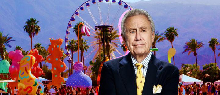 Philip Anschutz y a dónde va su dinero de Coachella