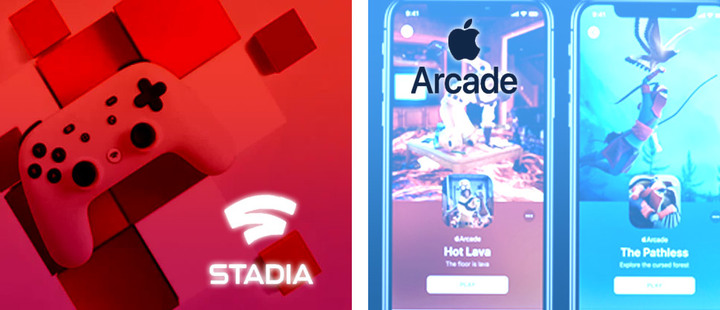 Stadia and Arcade: the new online videogame platforms