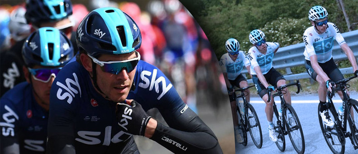The new rival in international cycling is called INEOS