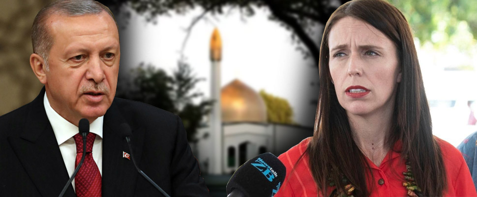 Ardern and Erdogan: Different responses to the same incident