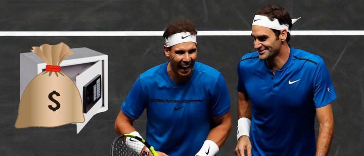 ¿Cuál es la diferencia entre Federer y Nadal a la hora de hacer dinero?