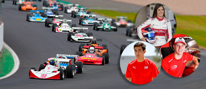 Formula 2: historic day for debuts