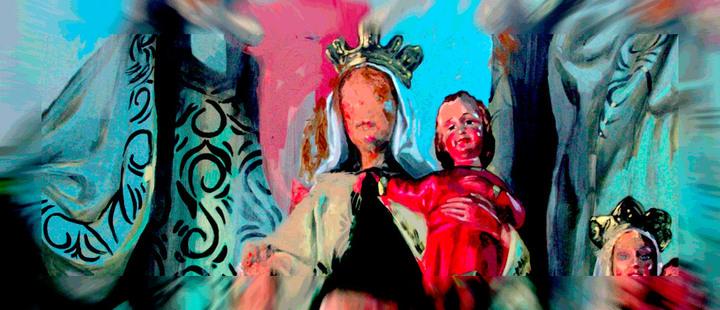 Estos artistas reflejan su opinión sobre la religión en sus obras