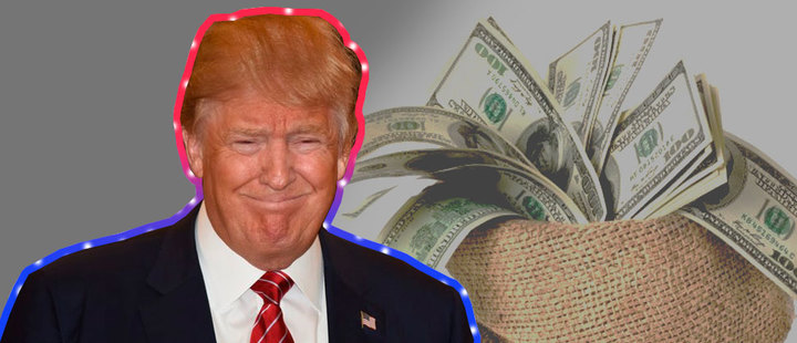 Generosity or propaganda? The donations made by Donald Trump
