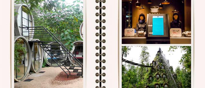 Aventúrate a conocer estos 5 hoteles raros y divertidos