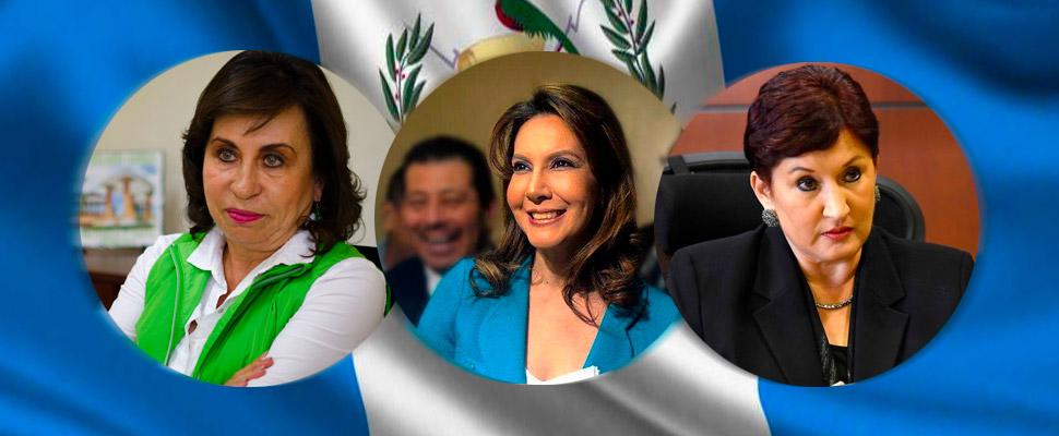 Guatemala: 3 mujeres que lideran las elecciones presidenciales