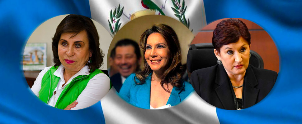 Guatemala: 3 women who lead the presidential elections