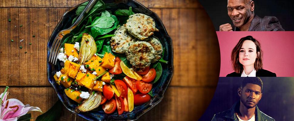 Celebridades por las que tal vez te animes al veganismo