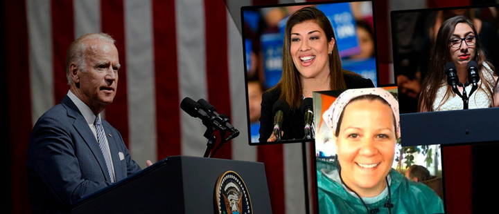 #MeToo: estas son las mujeres que acusan a Joe Biden