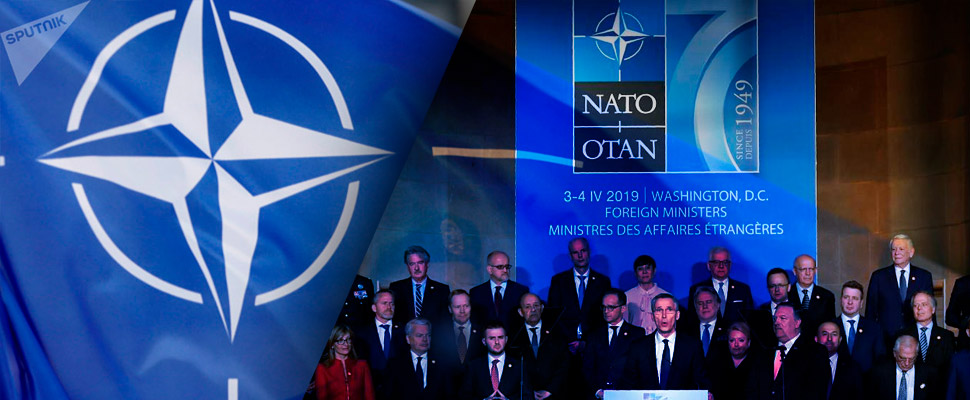 What leaves the 70 years of NATO